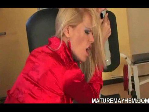 Angle blonde fucking