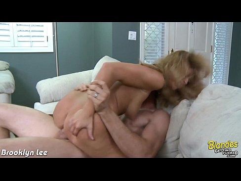 Blonde babe Brooklyn Lee fucking