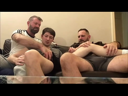 Twink is curious about Hairy Dick in my pants