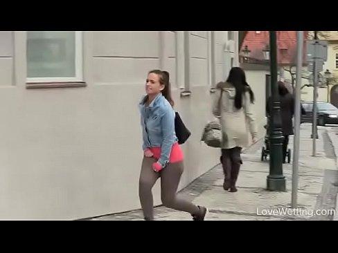 Girl Masturbates Public Shower