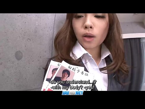 Subtitles - Japanese beauty Aiko Hirose in well office sex action