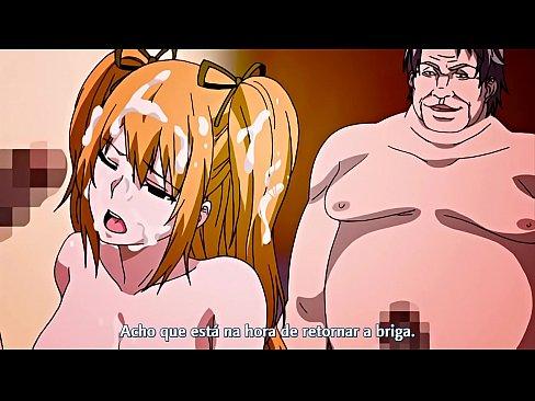 Professores ensinam aluna na sala de sexo privada
