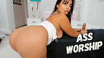 Emanuelly Raquel sexy big butt youtuber asking you to fuck her ass so hard, POV anal sex roleplay, ass worship, the best ass fuck roleplay of your life!!!!