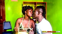 Amateur African Couple in Homemade Leak