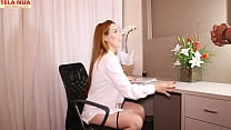 SECRETARY GOSTOSA PUPPED AND FUCKED WITH OFFICE...