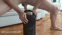 Fitness daily routine with Fleshlight Quickshot © and CUMSHOT
