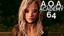 A.O.A. Academy #64 • Spicy date with three cuties at the cinemas