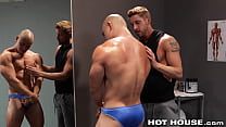 HotHouse - Coach Johnny Ford Fucks His Asian Bodybuilder Student