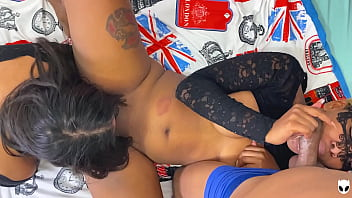 KHALESSI 69 Sucking and Licking this Ebony Wet Big Clit While she make Hot Blowjob to REAL DROGO on the Camera. www.onlyfans.com/khalessi69