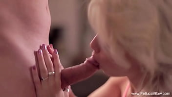 Elegance And Grace And A Blowjob With Cumshot Moment