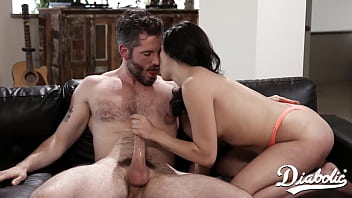 Cute Latina Step Daughter Squirts When Fucked By Step Dad - Diabolic 12 min