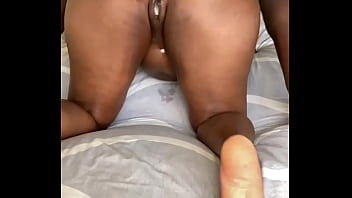 Anal sex gets me so creamy