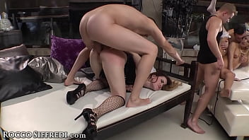 Rocco Siffredi Gorgeous Babes Want Their Wet Holes Obliterated Gangbang Style