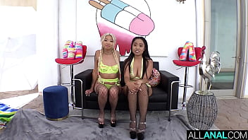 ALL ANAL Gia DiBella and Luna Mills let loose for anal