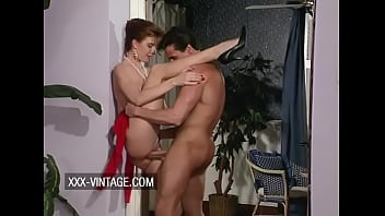 Vintage group sex with 3 busty babes