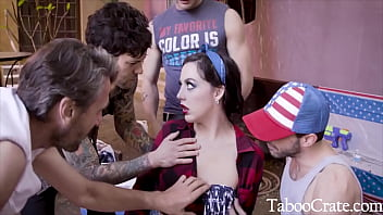 Unsuspecting Teen Pulled Into Family Gangbang - Whitney Wright