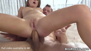 Young and inexperienced Mila Fox gets an anal romp