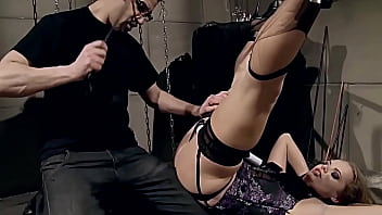 Outstanding beauty and amazing slave girl trained to be filthy submissive whore. Part 2. Extreme humiliation.