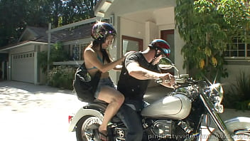 TEEN BIKER CHICK FUCKED AFTER A RIDE
