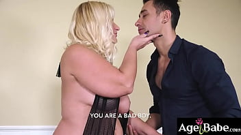 Busty blonde Anna's pierced pussy  banged by her  lover Mugur