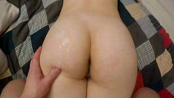 caught after shower and fucked