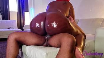 Ghetto Big Black Booty Snatches Nut With Tight BBW Pussy