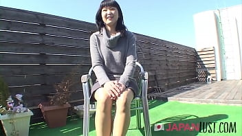 Japanese Milf Strips In The Sun For Sex