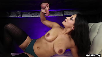 MILF Mio Moore Cum Blasted at the Miling Table