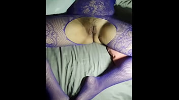 Slut Girl Fuck With Bodystocking. She Want Gangbang And Cum Inside Her Tight Pussy