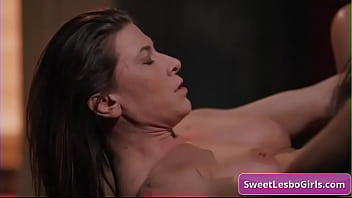 Sexy and horny busty lesbian hotties Ariel X, Sinn Sage eating pussy and enjoy strong orgasms