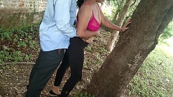 Found Best Friend Chubby Mom In Jungle Then I Called Her To Come My Home the I Fucking Hard Hard Till Cum In Pussy creampie