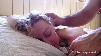 """""""Please cum, it hurts!"""" Little Blonde takes a hard assfucking from Wicked Fellow"""