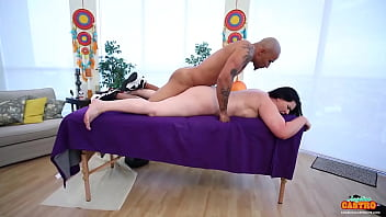 Hot Massage And Pussy Fucking! Cuban Babe Angelina Castro Gets Dicked!