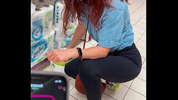 Amateur orgasm control in the store public flashing ass KleoModel