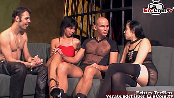 German amateur housewives swinger party with real couples