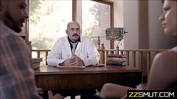 evil doctor jerks off to patients