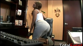 Sexy Black Kapri Gets Laid In The Office And Is Filmed Pov Style Too