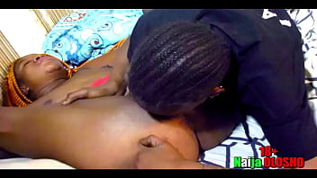 LadyGold Africa gave the room service an offer that made her to service her horny pussy 2 trailer