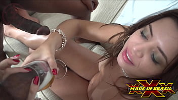 Meek cuckold refuses fire and has to hire two escorts to fuck his wife while she gives his ass humiliating the broxa - Pamela Pantera - Andre Garcia - Nego Catra - Paulo Macky - Direction André Garcia - Complete scene at Red
