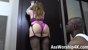 Dominated By Summer Hart's Big Ass!