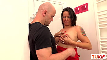 Lactating French MILF Amelie Joyce Gets Anal Sex