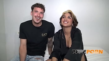 First ANAL! Valeria tries the marvels of butthole sex with an experienced stud