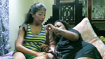 Indian Sexy Girl Shared Her Boyfriend With Her Sister!! Real Homemade Sex With Clear Audio