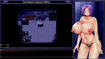 Karryn's Prison [RPG Hentai game] Ep.3 naked in the prison while the guards are jerking