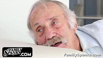 Abusive Teen and Brother Has not Respect for their Grandpa