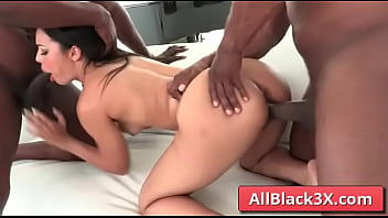 Diamond Bank gets her ass and mouth filled with mostre black cocks - Prince Yahshua, Jax Slayher