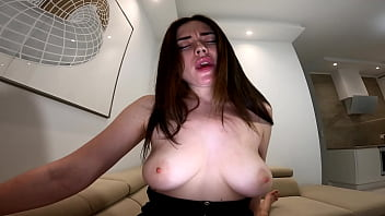Sexy girl hotly sucks a big dick of his boyfriend and jumps on it in revers cowgirl pose 4K 60FPS 5 min