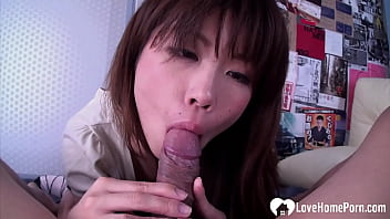 Getting A Blowjob In POV Before Shagging Her