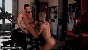 (Mickey Taylor) Fucks The Cum Out Of (Tyler Berg) And Cums All Over Him - Bromo