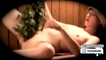 Stepdaughter came to the sauna, Stepfather's hidden camera recorded everything